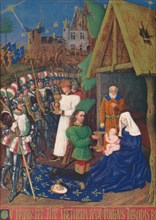 'The Adoration of the Magi', c1455, (1939). Artist: Jean Fouquet.