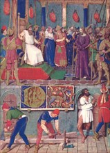 'Jesus Before Pontius Pilate', c1455, (1939). Artist: Jean Fouquet.