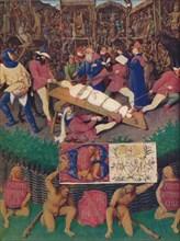 'The Martyrdom of St. Apolline', c1455, (1939). Artist: Jean Fouquet.