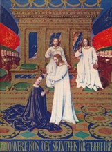 'The Virgin's Coronation', c1455, (1939). Artist: Jean Fouquet.