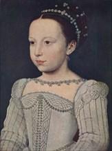 'Marguerite de Valois', c1560, (1939). Artist: Francois Clouet.