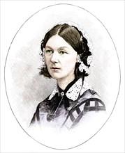 Florence Nightingale (1820-1910), British nurse. Artist: Unknown.