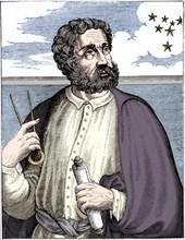 Fernand Magellan (c1480-c1521), Portugese navigator.  Artist: Unknown.
