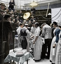 An operation at Charing Cross Hospital, London, 1901 (1903). Artist: Time Life Pictures.