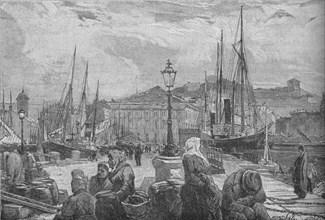 'Trieste Harbour', 1902. Artist: Unknown.
