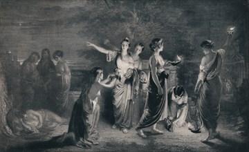 'The Wise and Foolish Virgins', c1900, (1911). Artist: JG Lander.