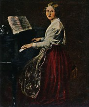 Jenny Lind 1820-1887. - Gemälde von Asher', 1934