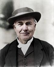 Thomas Edison, 1914. Artist: Unknown.