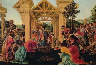 'The Adoration of the Magi', c1475-1476. Artist: Sandro Botticelli.