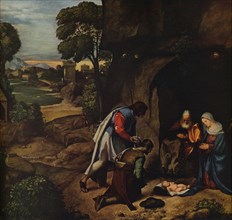 'The Adoration of the Shepherds', 1505-1510. Artist: Giorgione.
