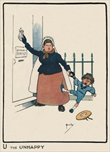 'U the Unhappy', 1903. Artist: John Hassall.