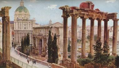 Rome', c1930s. Artist: Ewing Galloway.