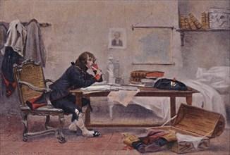 'Bonaparte at Auxonne, 1788', (1896).  Artist: Unknown.