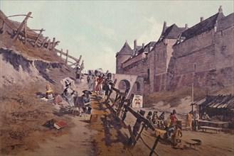 'Target Practice (Dieppe 1795)', 1896. Artist: Unknown.