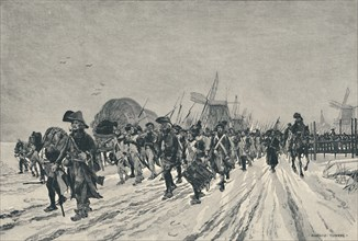 'The Conquest of Holland', 1795, (1896). Artist: JW Evans.