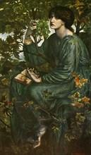 'The Daydream', 1880, (c1912). Artist: Dante Gabriel Rossetti.