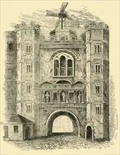'Old Newgate', c1760, (c1872). Creator: Unknown.