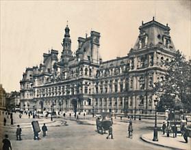 'Paris. - L'Hotel De Ville. - LL, c1910. Creator: Unknown.