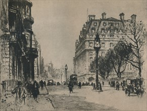 'Piccadilly', 1927. Creator: Percy Robertson.