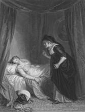 'Juliet & the Nurse', c1830s.  Creator: E Smith.
