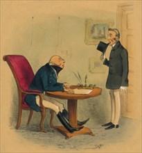 'Prend moi tel que je suis', 1834. Creator: IB Brookes.