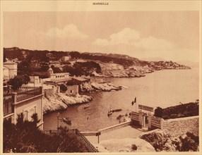 'The Corniche, Marseille', 1930. Creator: Unknown.