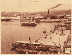 'Panorama of the Quais at Toulon', 1930. Creator: Unknown.