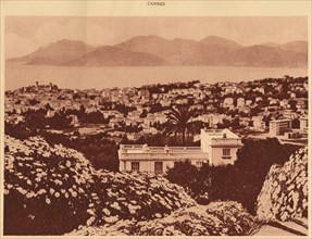 'General view taken from Pezou, Cannes', 1930. Creator: Unknown.