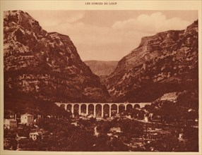 'The Viaduct and the access to the Gorges', 1930. Creator: Unknown.