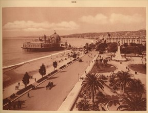'The Gardens and the Jetty Palace, Nice', 1930. Creator: Unknown.