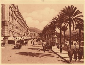 'Avenue of Verdun, Nice', 1930. Creator: Unknown.