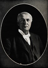 'Thomas Edison, the Wizard of the West', c1880s, (1914).  Creator: E Bieber.
