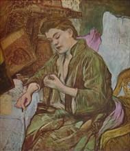 'La Toilette', ('Getting Ready'), 1891, (1937). Creator: Henri de Toulouse-Lautrec.