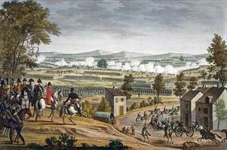 The Battle of Lutzen, 2nd May 1813. Artist: Edme Bovinet