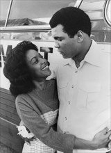Muhammad Ali (b1942) and Nira Waters, 1977. Artist: Unknown