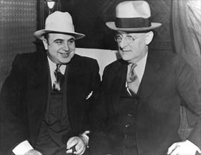 Al Capone (1899-1947), Italian American gangster, c1930s. Artist: Unknown