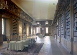 Interior of the Bernadotte Library, Royal Palace, Stockholm, Sweden. Artist: Göran Algård