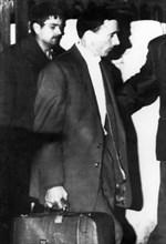 Joseph Cesari, arrested in Marseilles carrying 100 kilos of heroin, 1964. Artist: Unknown