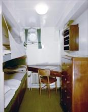The full-rigged ship 'AF Chapman', converted into a youth hostel, Stockholm, Sweden. Artist: Göran Algård