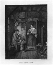 'The Invalid', c1833. Artist: W Hessloehl