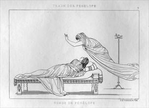 'Penelope's dream', c1833. Artist: Unknown