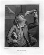 'The glutton', c1833. Artist: W Hessloehl