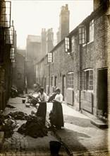 Ruston's Place, Bellar Gate, Caunts Yard, Nottingham, Nottinghamshire, 28th May 1919. Artist: Unknown