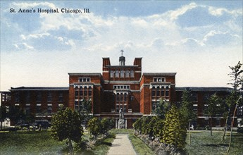 St Anne's Hospital, Chicago, Illinois, USA, 1908. Artist: Unknown