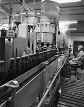 Ward & Sons new soft drink bottling plant, Swinton, South Yorkshire, 1961. Artist: Michael Walters