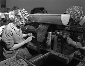 Detonator production, ICI plant, Denaby Main, South Yorkshire, 1962. Artist: Michael Walters
