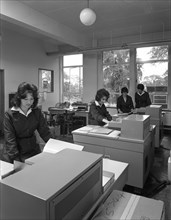 British Steel staff using the latest Rank Xerox copiers, Rotherham, South Yorkshire, 1962. Artist: Michael Walters