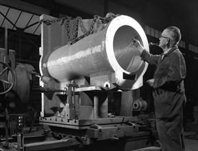 The British engineer, Rotherham, South Yorkshire, 1963. Artist: Michael Walters