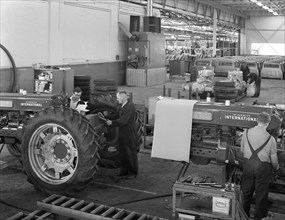 International Harvester tractor factory, Doncaster, South Yorkshire, 1966. Artist: Michael Walters