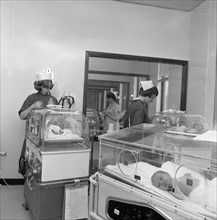Special care unit for premature babies, Nether Edge Hospital, Sheffield, South Yorkshire, 1969. Artist: Michael Walters